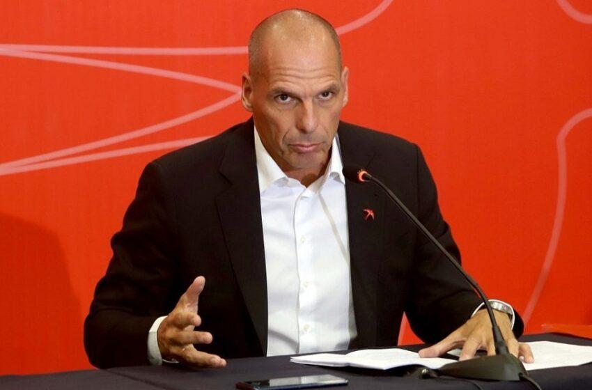 Βαρουφάκης: Όσο είμαι εδώ ψήφο εμπιστοσύνης δεν θα δώσουμε σε καμία κυβέρνηση ΣΥΡΙΖΑ-ΚΙΝΑΛ