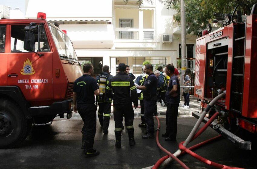 Έκρηξη σε διαμέρισμα στο κέντρο της Θεσσαλονίκης με έναν τραυματία (vid)