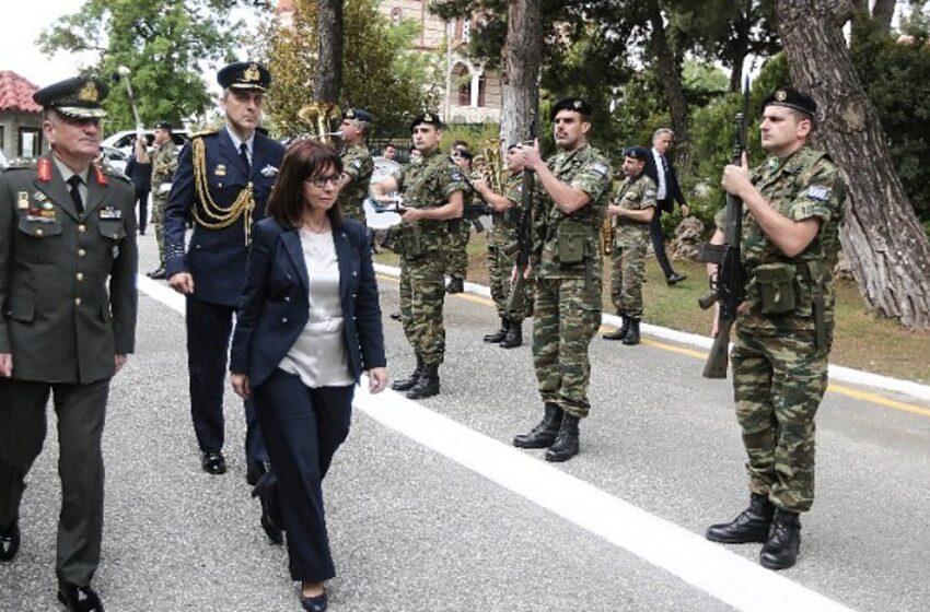 """Κ. Σακελλαροπούλου: """"η Θράκη είναι το ζωντανό παράδειγμα όπου χριστιανοί και μουσουλμάνοι πολίτες μπορούν να συμβιώνουν αρμονικά """""""