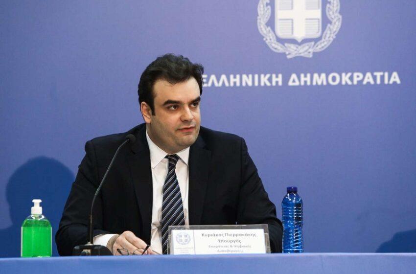 """Πιερρακάκης: """"Εμβολιασμοί – Σύντομα οι ανακοινώσεις και για τους 40-49"""""""