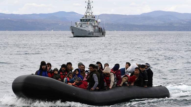 Διάσωση 36 μεταναστών και προσφύγων στη Λέσβο από το Λιμενικό