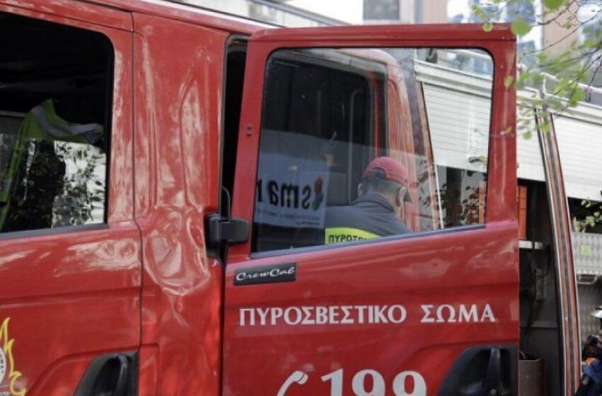 Χανιά: Φωτιά σε διαμέρισμα-Απεγκλωβίστηκε ηλικιωμένος