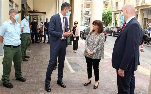 Κ. Σακελλαροπούλου: Πιο επείγουσα η ανάγκη μέριμνας για τους άστεγους