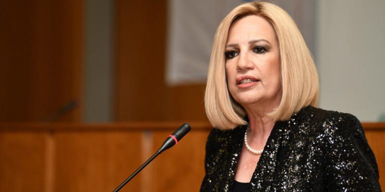 Φ. Γεννηματά: «Η Ελλάδα να απορρίψει ασυζητητί το σχέδιο του Ευρωπαϊκού Συμβουλίου για την Τουρκία»