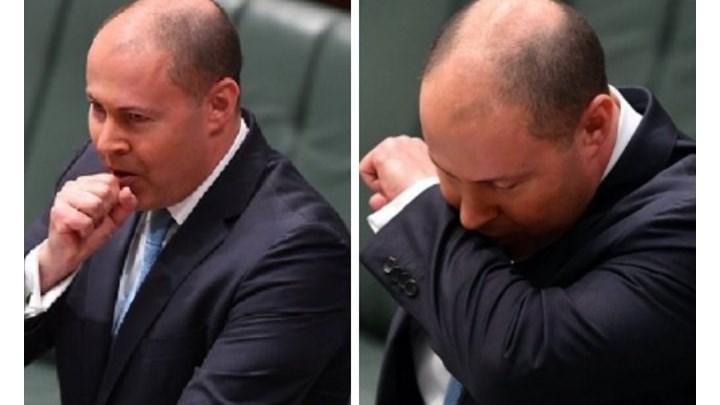 Αυστραλός υπουργός έβηχε ασταμάτητα στη Bουλή και τέθηκε σε καραντίνα