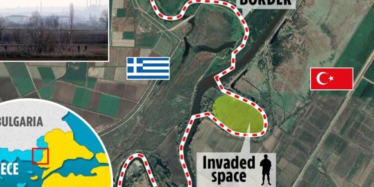 Daily Mail: Εισβολή Τούρκων στρατιωτών σε ελληνικό έδαφος στον Έβρο