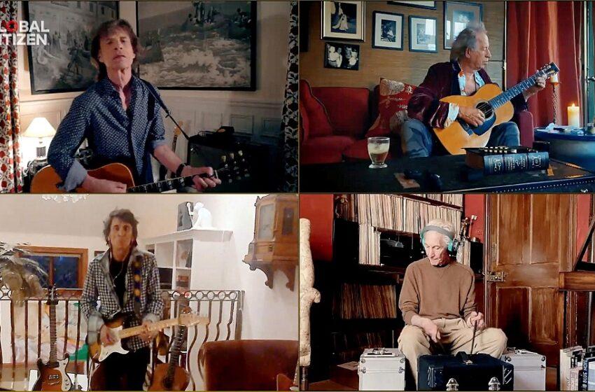 """Το νέο βίντεο κλιπ για το επίκαιρο τραγούδι των Rolling Stones """"Living in a Ghost Town"""" (vid)"""