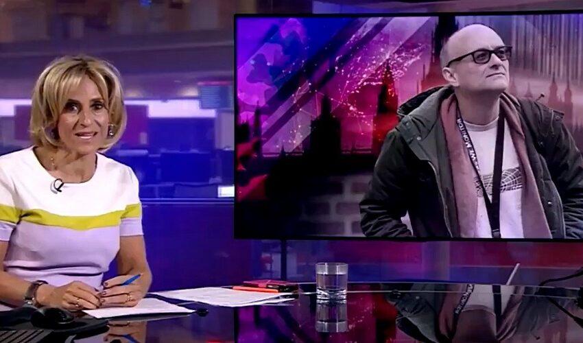 """""""Έκοψαν"""" παρουσιάστρια του BBC επειδή σχολίασε σύμβουλο του Τζόνσον (vid)"""