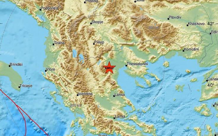 Σεισμός 3,9 Ρίχτερ με μικρό εστιακό βάθος ταρακούνησε τη Βέροια