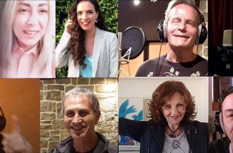 Νταλάρας, Ασλανίδου,Κότσιρας,Κανά και άλλοι καλλιτέχνες σε τραγούδι για την Ιταλία: Κάντε κουράγιο, σας αγαπάμε!