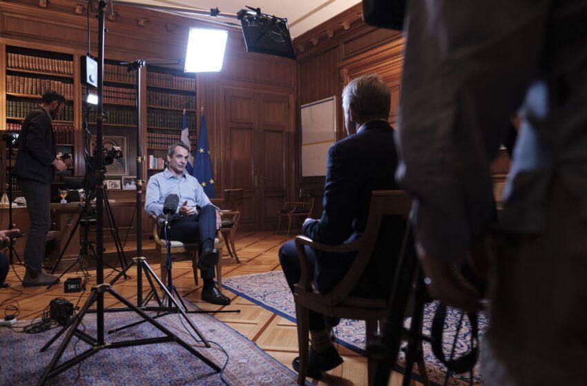 Μητσοτάκης στο CNN: Συλλογική επιτυχία η αντιμετώπιση της πανδημίας (βίντεο)