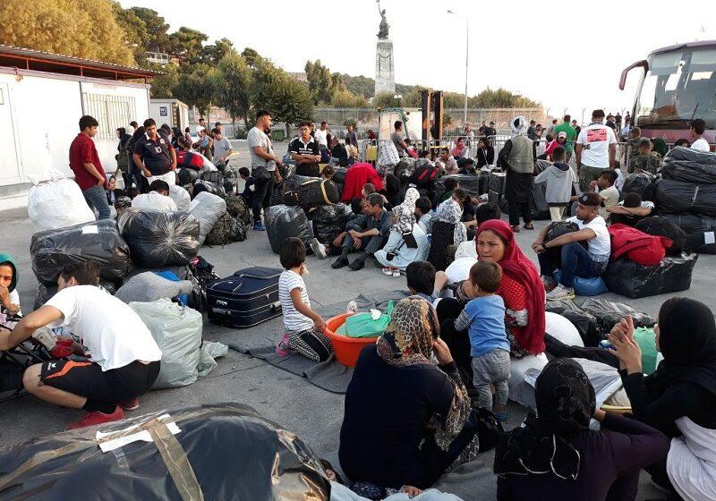 Θετικοί στον κοροναϊό δύο μετανάστες σε δομή της Λέσβου