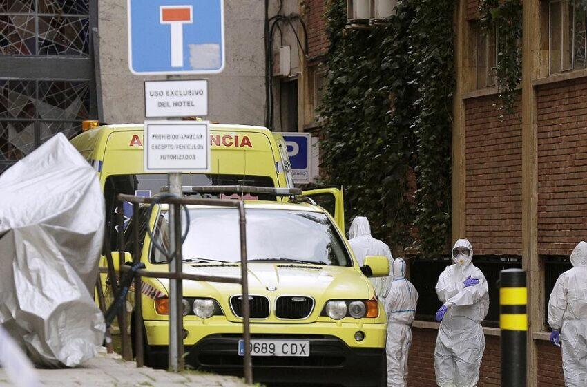 Ισπανία: Άλλοι 213 ασθενείς κατέληξαν το τελευταίο 24ωρο