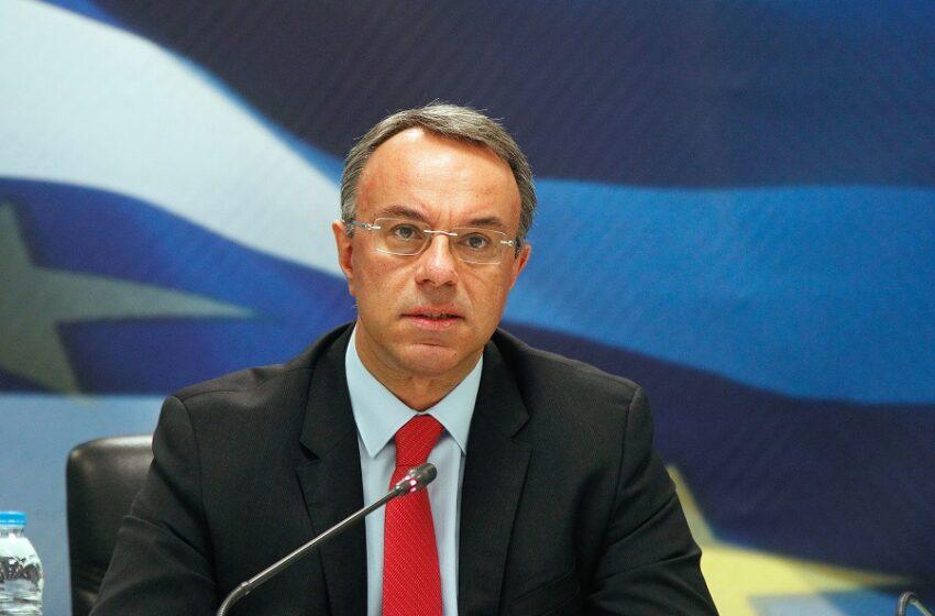 Σταϊκούρας: Η Ελλάδα αυτήν τη στιγμή δεν έχει ανάγκη για δάνειο από τον ESM