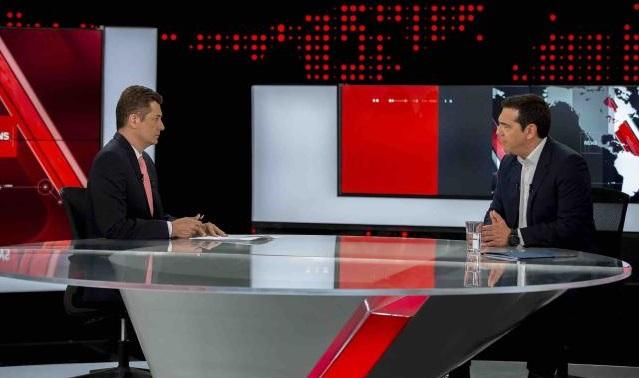 Συνέντευξη του Αλ. Τσίπρα στο κεντρικό δελτίο ειδήσεων του Alpha