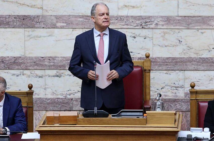 """Η επιχειρηματολογία Τασούλα για την """"στροφή"""" της Ν.Δ ως προς τις Πρέσπες- Το """"όχι"""" στην άρση της ασυλίας βουλευτών του ΣΥΡΙΖΑ"""