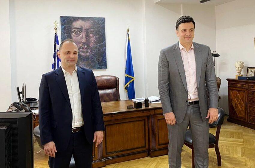 Υγειονομική συμφωνία με τη Βόρεια Μακεδονία- Τι συζήτησαν (μακριά από τα φώτα) Κικίλιας- Filipce