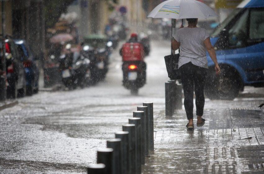Άστατος καιρός – Νέα πτώση θερμοκρασίας και βροχές – Πού θα είναι έντονα τα φαινόμενα
