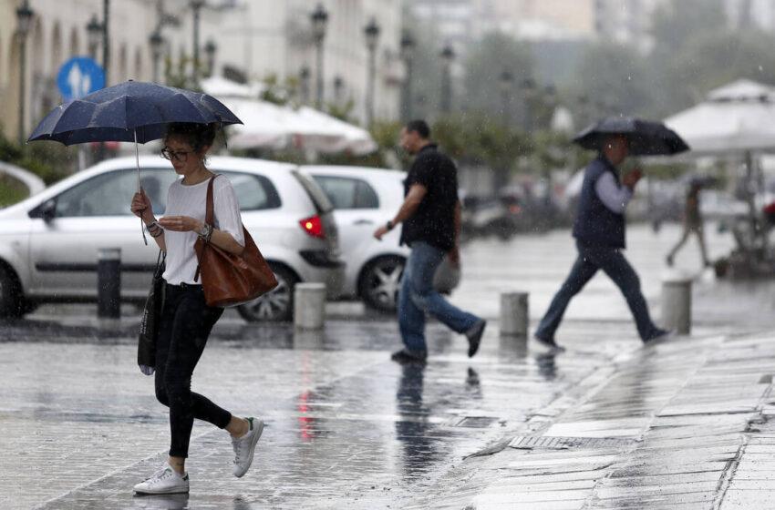 Καιρός: Βροχές και καταιγίδες από το μεσημέρι