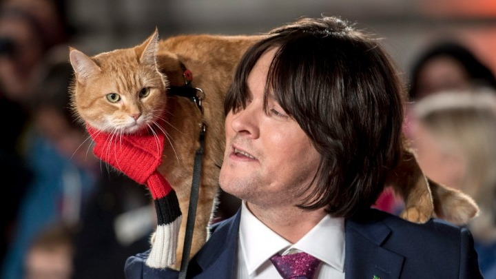 """Πέθανε ο """"γάτος που τον έλεγαν Μπομπ"""""""
