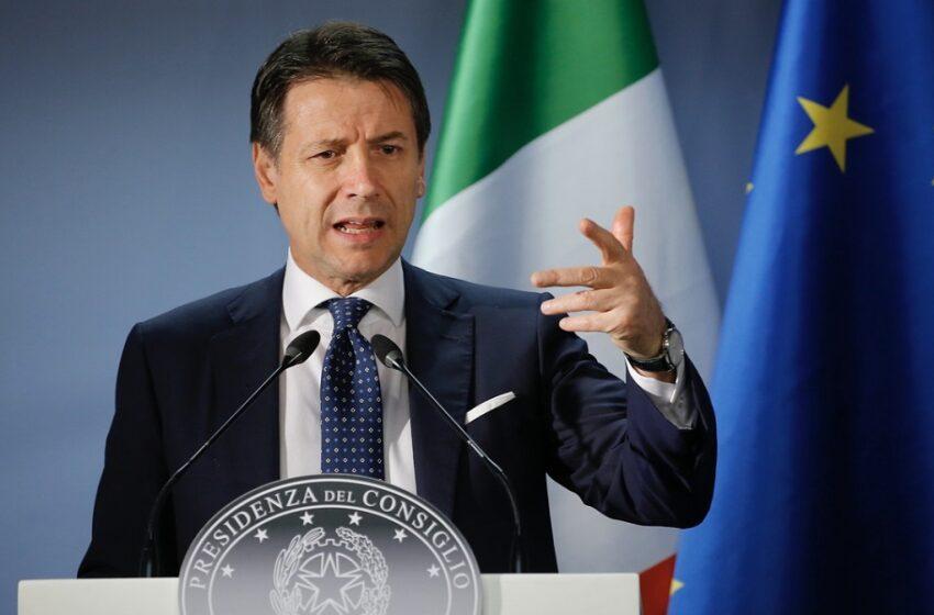 Αυστηρότερα μέτρα για την Ιταλία – Νέο ρεκόρ κρουσμάτων και διάγγελμα Κόντε