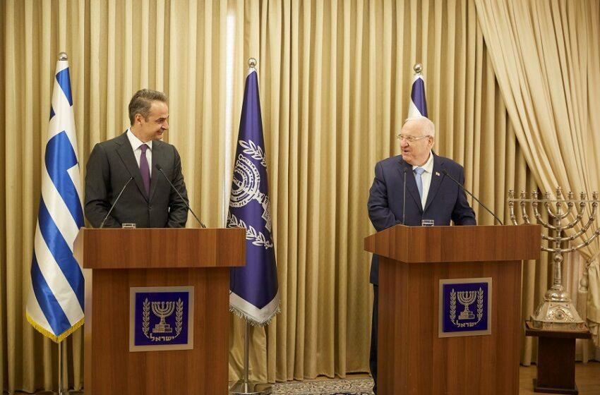 Κ. Μητσοτάκης: Ο EastMed αγωγός ειρήνης και σταθερότητας στην περιοχή