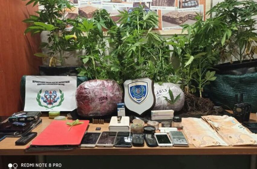 Σύλληψη μελών εγκληματικής οργάνωσης διακίνησης ναρκωτικών στην Πάτρα