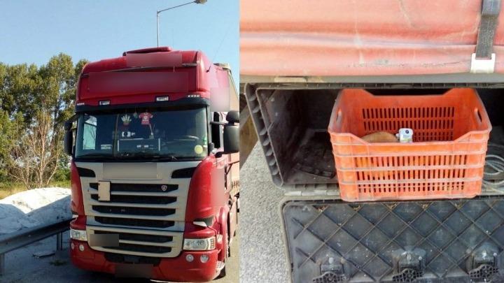 """Φορτηγό με """"πειραγμένο"""" ταχογράφο εντοπίστηκε στις Σέρρες"""
