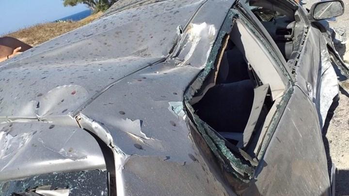 Σοκάρουν οι εικόνες από το τροχαίο που έχασε τη ζωή του ο Παναγιώτης Σκαφτούρος