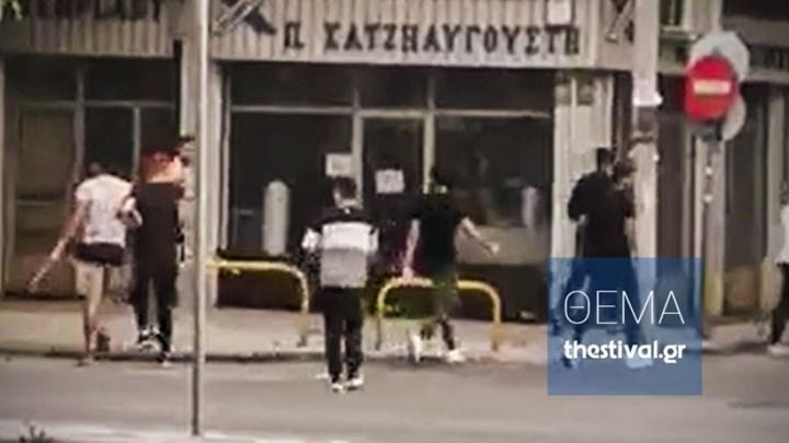 Βίντεο ντοκουμέντο από άγριο ξυλοδαρμό αλλοδαπού στη Θεσσαλονίκη