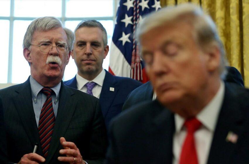 Νέες αποκαλύψεις Μπόλτον – Ο Τραμπ ήταν έτοιμος να αποχωρήσει από το ΝΑΤΟ