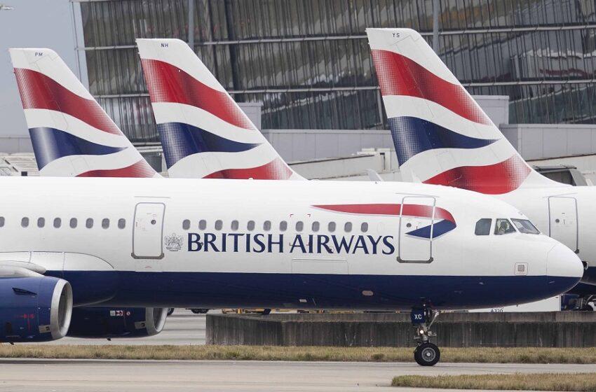 Στα δικαστήρια κατά της βρετανικής κυβέρνησης British Airways, easyJet και Ryanair για την καραντίνα