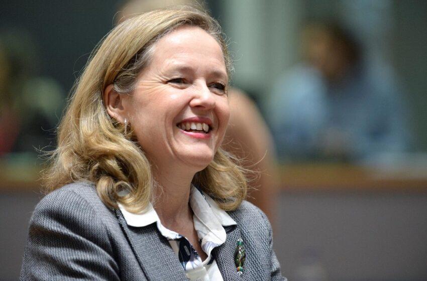 """Τη Νάντια Καλβίνο θέλει στο """"τιμόνι"""" του Eurogroup η Ισπανία"""