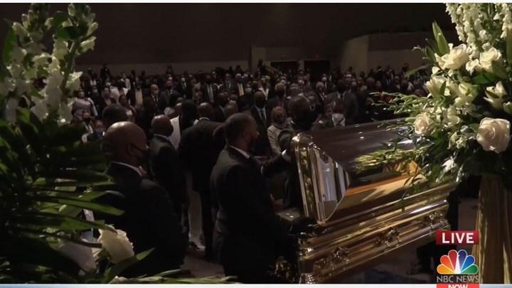 Χιούστον: Θρήνος στην κηδεία του Τζορτζ Φλόιντ (vid)