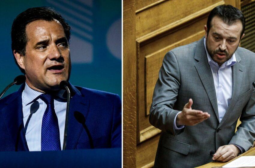 """""""Σφάχτηκαν"""" on air: Γεωργιάδης: Είστε σπείρα – Παππάς: Η ΝΔ έχει ως αντιπρόεδρο ακροδεξιό διαστρεβλωτή (vid)"""