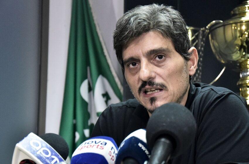 Βόμβα Γιαννακόπουλου: Ο Παναθηναϊκός είναι προς πώληση για 25 εκατ. ευρώ