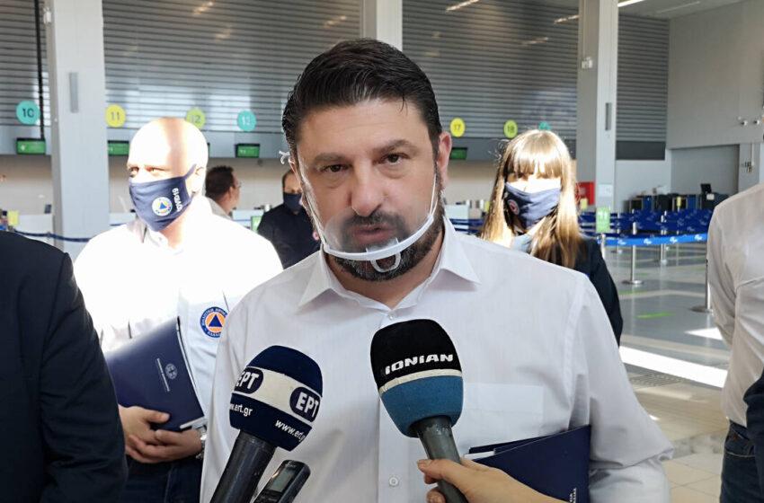 Απελευθέρωση πτήσεων: Περιοδεία Χαρδαλιά στα αεροδρόμια ενόψει 1ης Ιουλίου  – Εννέα οδηγίες ασφαλείας