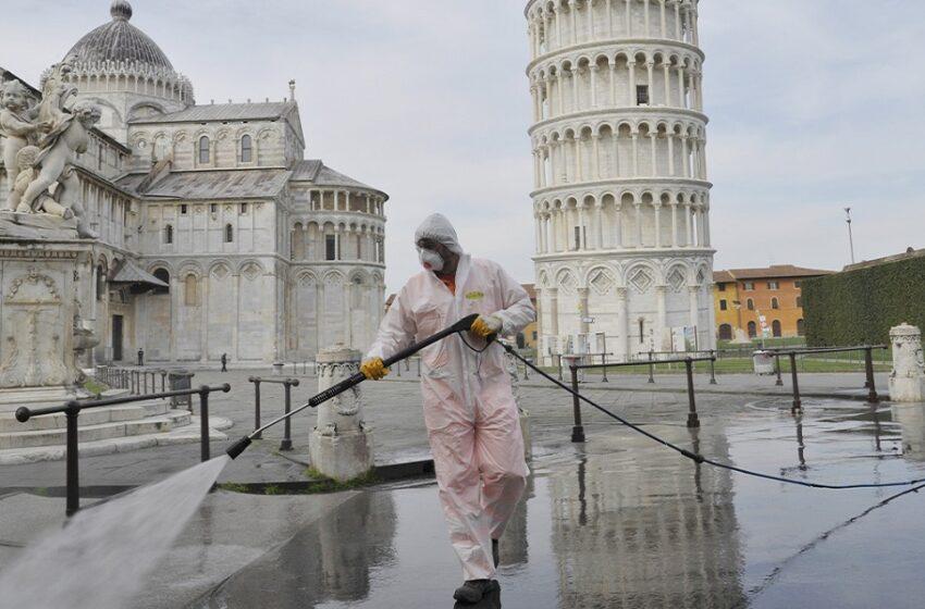 Κατάσταση έκτακτης ανάγκης: Υποχρεωτική η χρήση μάσκας σε όλους τους ανοικτούς χώρους στην Ιταλία