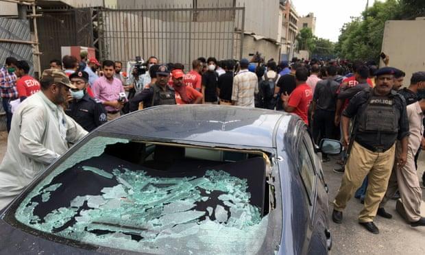 Επίθεση ενόπλων στο Χρηματιστήριο του Καράτσι