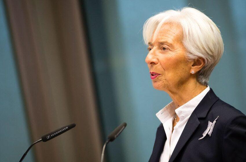 Αισιόδοξο μήνυμα από Λαγκάρντ: Η Ευρωζώνη ενδεχομένως πέρασε τα χειρότερα
