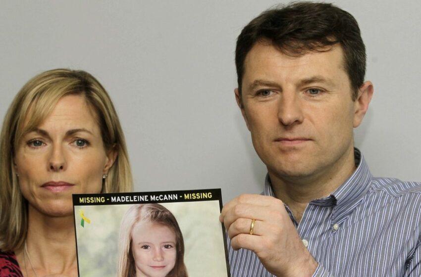 """Εξαφάνιση Μαντλίν: """"Πολύ σημαντική"""" η ύπαρξη νέου υπόπτου λένε οι γονείς – Τι ερευνούν οι αρχές"""