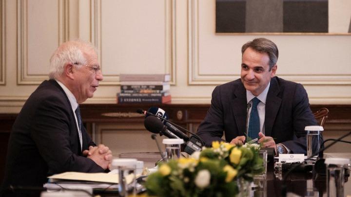 Μητσοτάκης: Η Τουρκία να σταματήσει τις προκλητικές ενέργειες που παραβιάζουν τα κυριαρχικά δικαιώματα Ελλάδας και Κύπρου