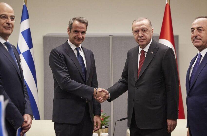Συνάντηση Μητσοτάκη με Ερντογάν: Πότε την προσδιόρισε ο κυβερνητικός εκπρόσωπος – Ξεκινούν ο διάλογος στο ΝΑΤΟ και οι διερευνητικές