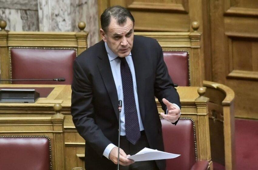 Παναγιωτόπουλος: Η Ελλάδα δεν θα λυγίσει στη διαρκή προσπάθεια για υπεράσπιση των εθνικών δικαίων της