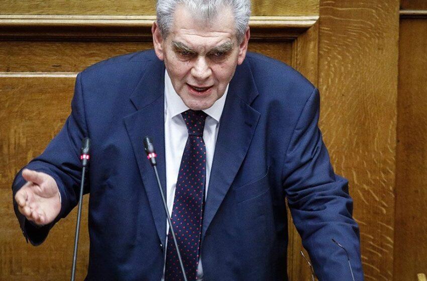 Δ. Παπαγγελόπουλος: Να αντιδράσει ο νομικός κόσμος στην κατάλυση του κράτους δικαίου