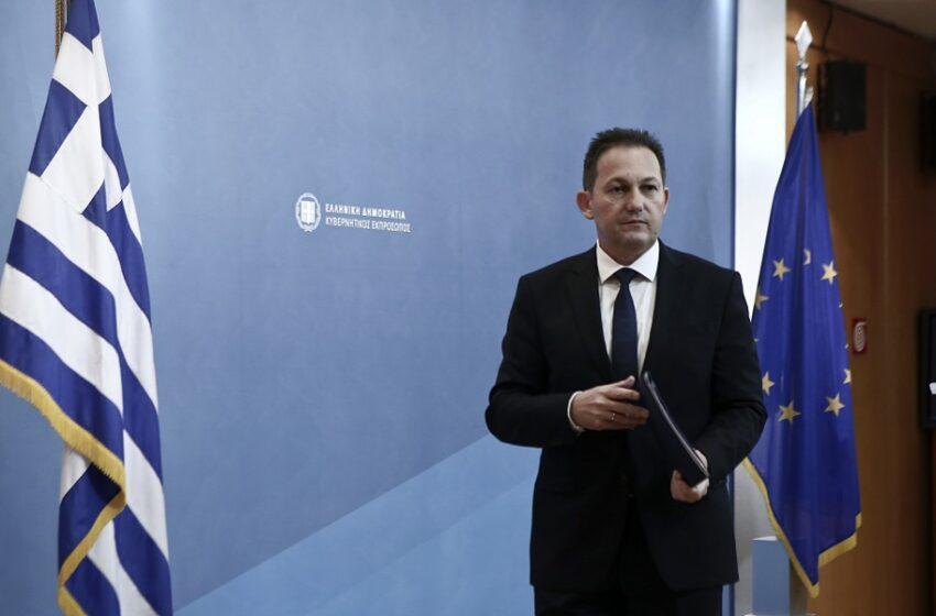 Στ. Πέτσας: Πότε θα συναντηθεί ο Κυρ. Μητσοτάκης με τον Ερντογάν- Καμία κυβέρνηση δεν συζητά αποστρατικοποίηση των νησιών