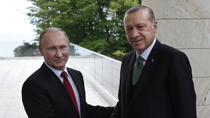 Πούτιν και Ερντογάν μίλησαν για Λιβύη και Συρία