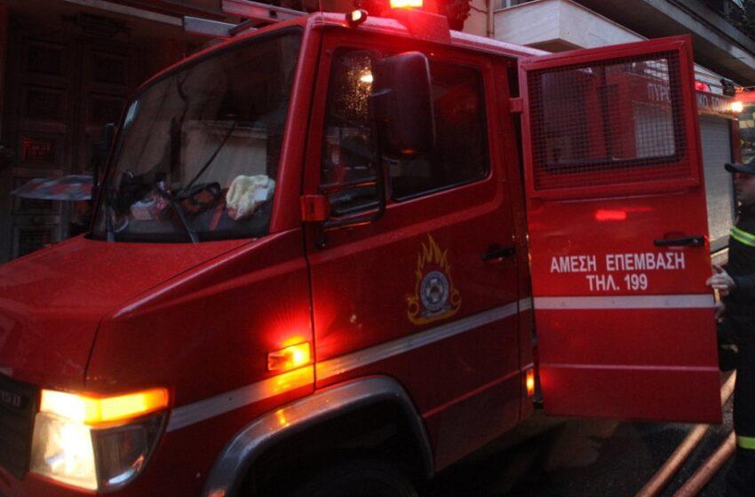 """Σε βραχυκύκλωμα αποδίδεται η φωτιά στο ΠΑΑΠΑΘ """"Άγιος Δημήτρης"""" – Όλοι καλά στην υγεία τους"""