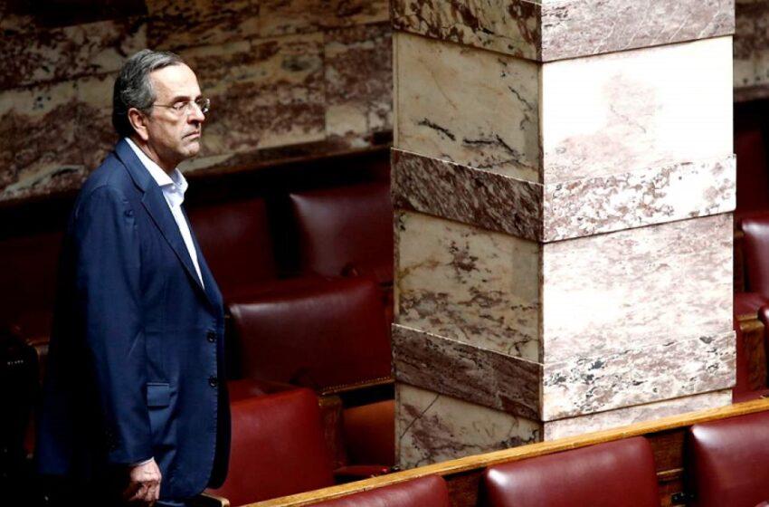 """Μανιφέστο Σαμαρά στα ελληνοτουρκικά, με αιχμές κατά Μητσοτάκη: Εγώ δεν συζητάω γενικώς και θεωρητικώς περί """"αποτροπής"""" – Επίθεση στον ΣΥΡΙΖΑ"""