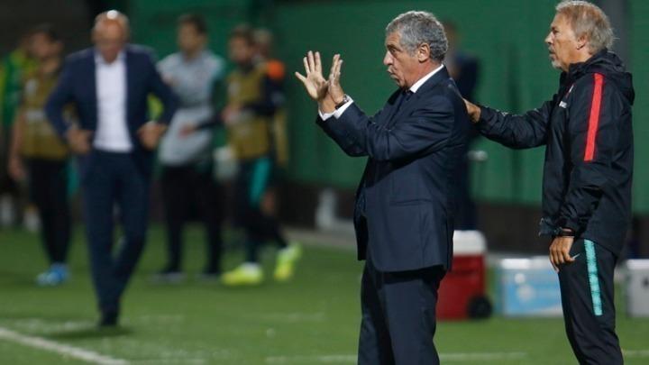 Σάντος τετραετίας στην Εθνική Πορτογαλίας